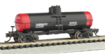 Bachmann 17851 N Scale ACF 36ft.6in. 10,000 Gal Single-Dome Tank Car Owenwood Motor Oil